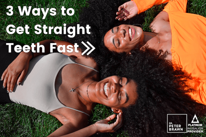 Straight Teeth With Invisalign Fast - Dr. Peter Brawn